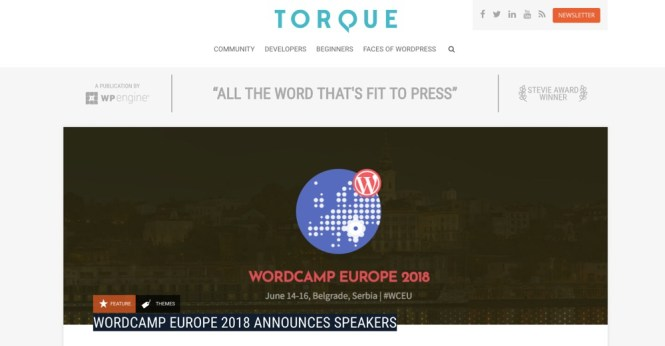 Blogs WordPress à suivre - Torque Mag