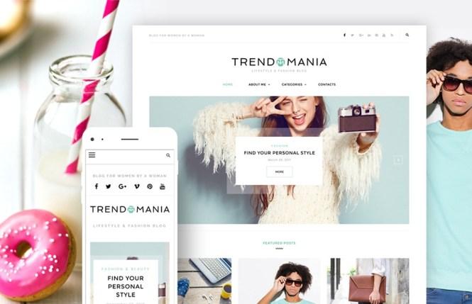 Thème WordPress Trendomania Lifestyle & Fashion Blog