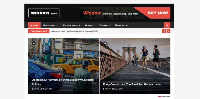WindowMag WordPress Magazine et Blog Premium Thème