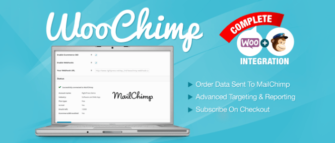 WooChimp WooCommerce MailChimp Integration Premium Plugin