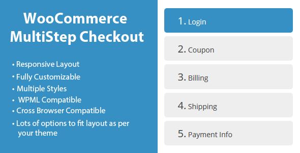 Module Premium de l'Assistant de paiement WooCommerce MultiStep Checkout