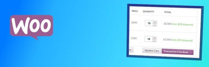 WooCommerce Bulk Discount WordPress Plugin gratuito