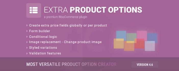 Opciones de productos adicionales de WooCommerce Complemento de WordPress Premium