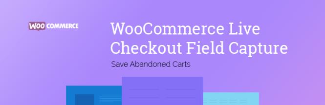 WooCommerce Live Sauvegarder les chariots abandonnés
