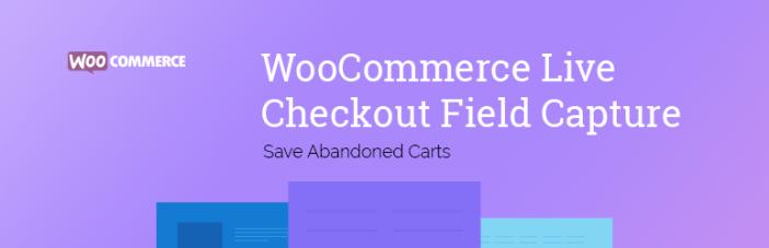 WooCommerce Live Save Carros abandonados
