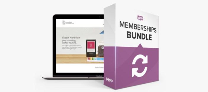 Paquete de membresías premium de WooCommerce