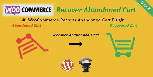 WooCommerce Recover Abandoned Cart Premium Plugin WordPress