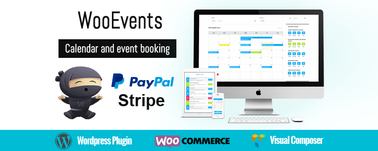 WooEvents Calendar and Events Booking Premium WordPress Plugin