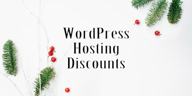 WordPress Hosting Holiday Sales