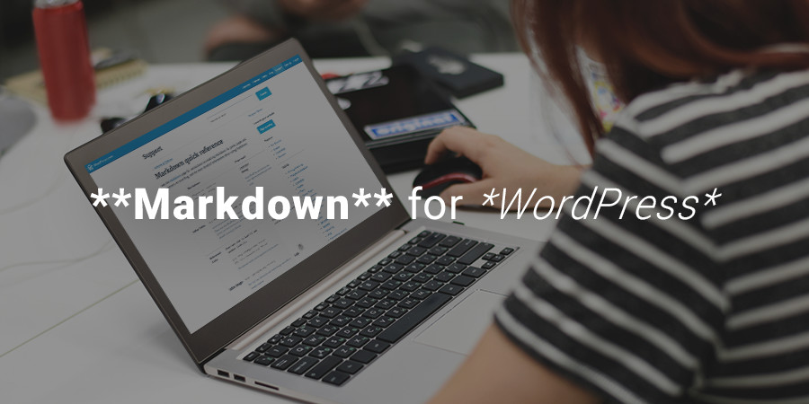 Markdown for WordPress