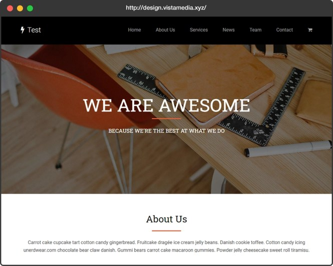 Site Web statique avec WordPress