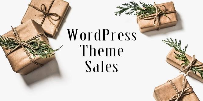 Ventes de vacances sur le thème WordPress
