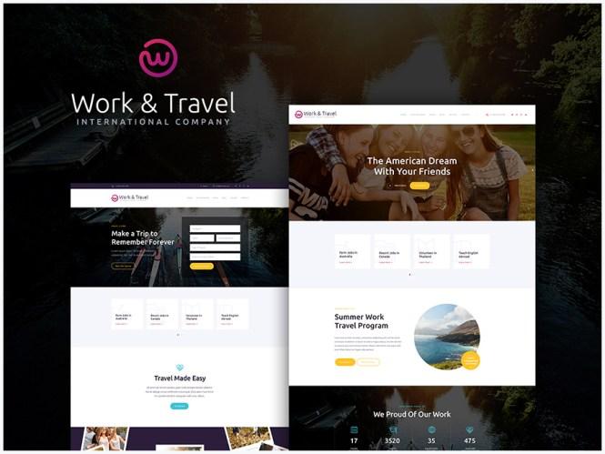 Thème WordPress pour sociétés de travail et de jeunesse