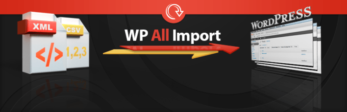 Importe cualquier archivo XML o CSV a WordPress Plugin