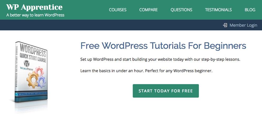 Быстрый старт WordPress от WP Apprentice