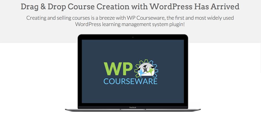WP Courseware Drag & Drop WordPress Создатель курса