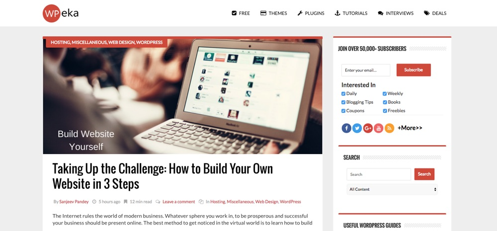 WordPress Blogs You Should Follow - WPeka