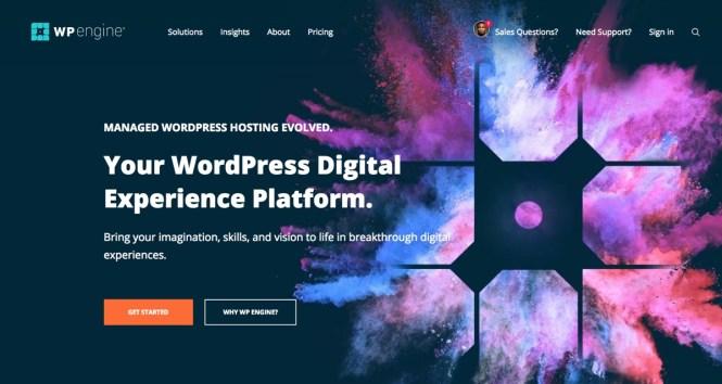 WP Engine: Hébergement WordPress géré de qualité supérieure