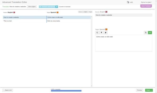 WPML Advanced Translation Editor
