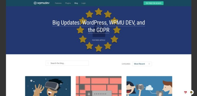 Blogs WordPress à suivre - wpmudev