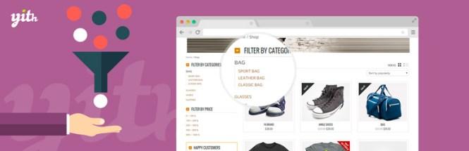 YITH WooCommerce Ajax Filtre de produit Plugin WordPress gratuit