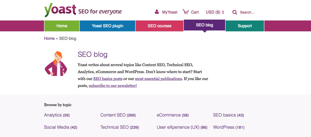 WordPress Blogs You Should Follow - Yoast SEO