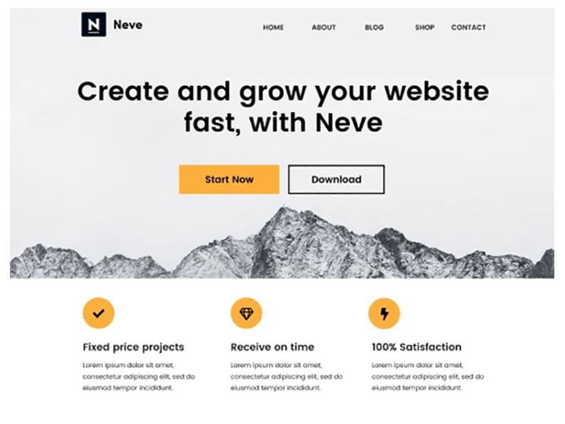 nave free wordpress topics