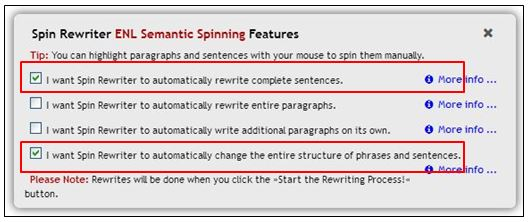 , Spin Rewriter Review: ENL Article Spinner Software