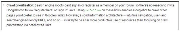 , How To NoFollow Links in Navigation Menus