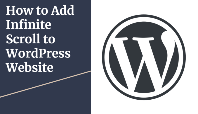 How to Add Infinite Scroll in WordPress