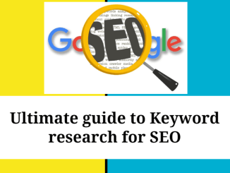 Ultimate guide to Keyword Research Tools for SEO