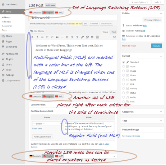 qtranslate-x-compose How to Build a Multilingual Site in WordPress