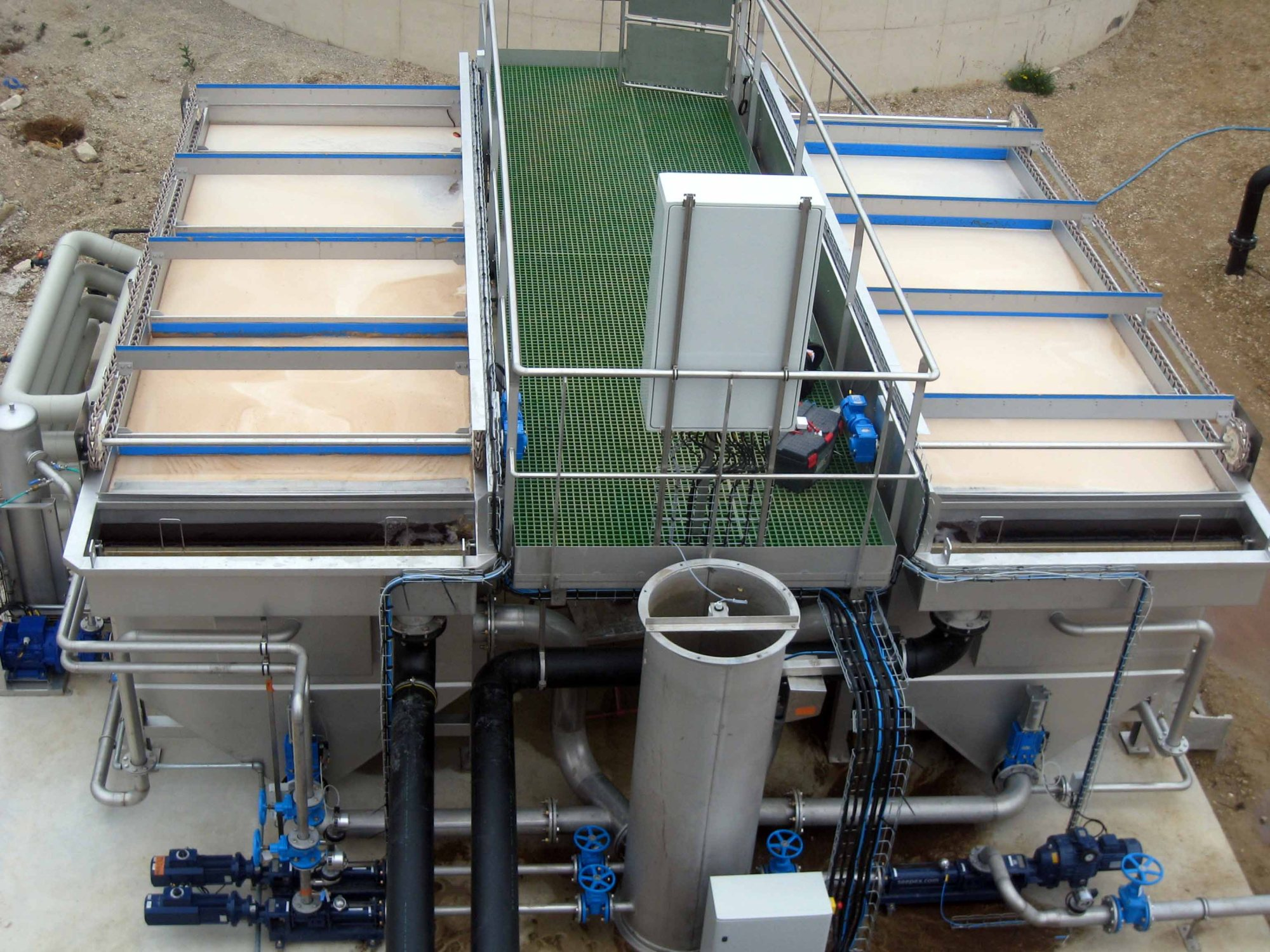 hight resolution of wpl dissolved air flotation system daf industrial wastewater treatment trade effluent wastewater treatment