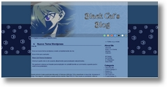 Tema WordPress Blu Black Cat