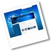 Una immagine del tema WordPress Warm Spring