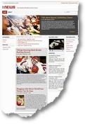 Una preview di questo tema adatto per notizie e magazine