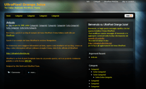 Tema WordPress UltraPixel