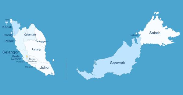 Interactive Map of Malaysia WordPress Plugin