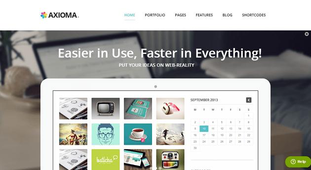 Axioma WordPress Theme