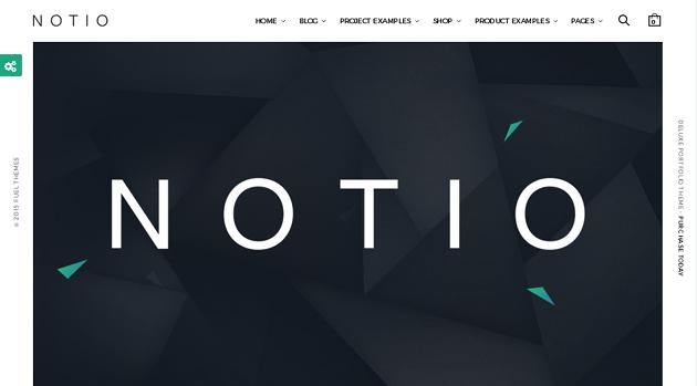 Notio WordPress Theme