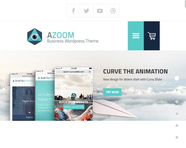 Azoom - WordPress Animation Themes