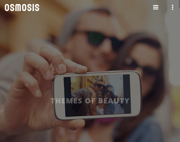 Osmosis - WordPress Animation Themes