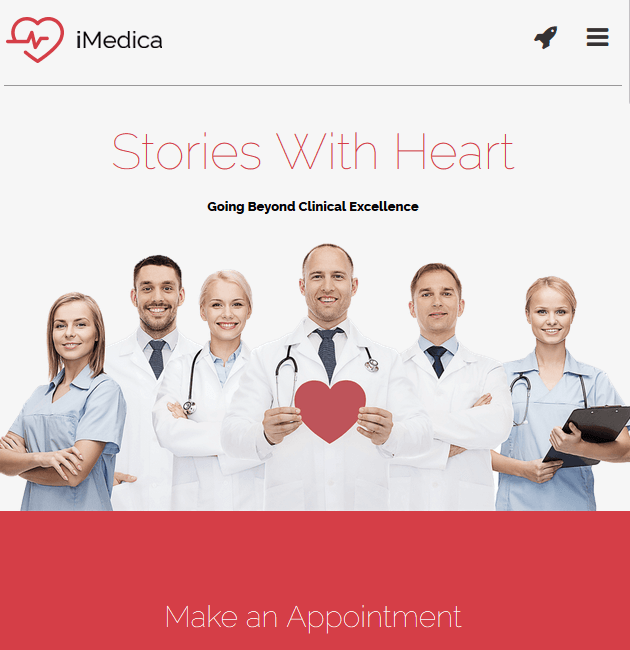 iMedica - WordPress Doctor Themes