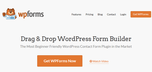 WPForms - Conditional Logic Form Builder Plugins