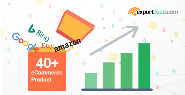 eCommerce Prodcuts to 40 Shopping Channels