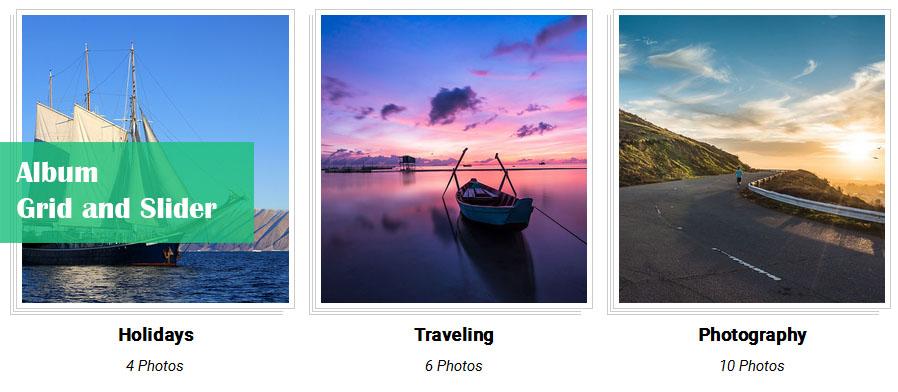 Album and Image Gallery Plus Lightbox 3