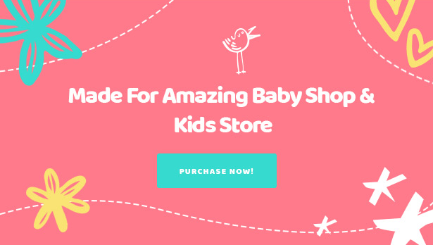 Kiddo Best Baby Kids Fashion WooCommerce WordPress Theme