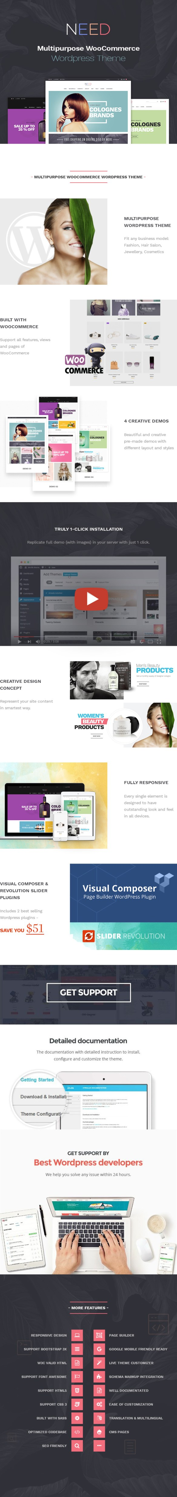 Multipurposes responsive WordPress theme