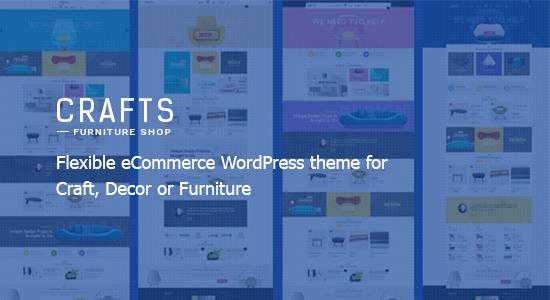 multiple layout furniture wordpresss theme