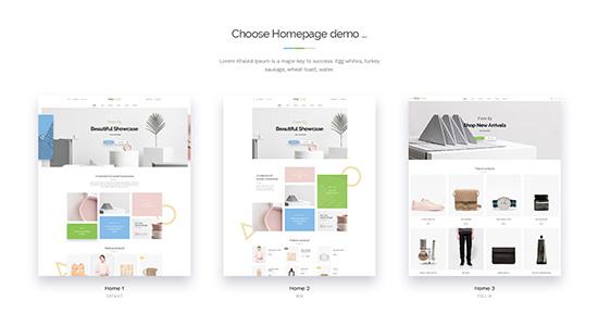 multi layouts WordPress theme